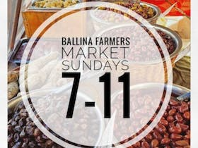 image of bowls of olives set behind the ballina farmers market 7-11am info
