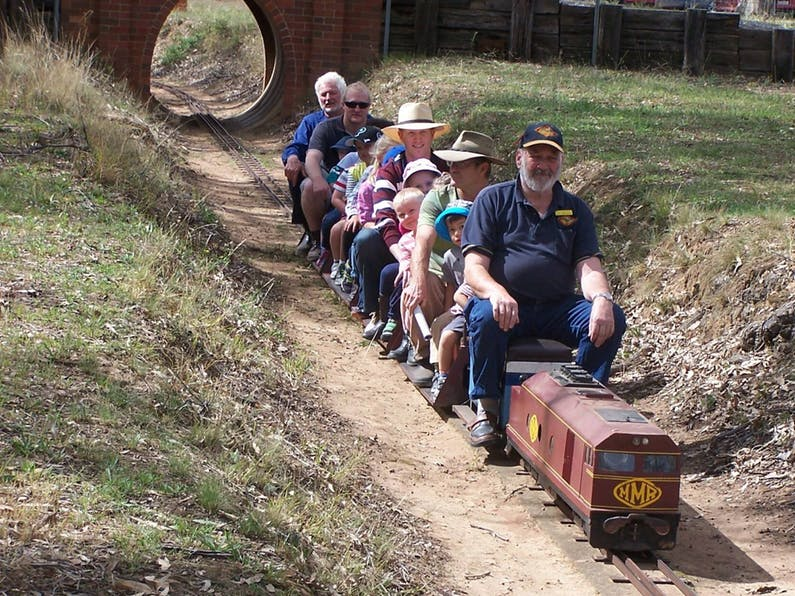 Image of the event 'Blowfly Rally Mudgee Miniature Railway'