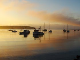 View across Batemans Bay harbour