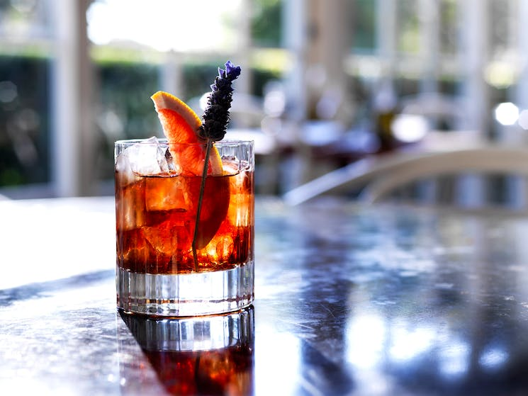Chiswick uses the draws on the garden to create cocktails that reflect seasonality.