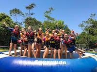 Summer fun on the Aqua Park