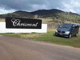 Wine tasting and gourmet lunch option at Chrismont
