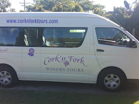 Cork 'n Fork Winery Tours