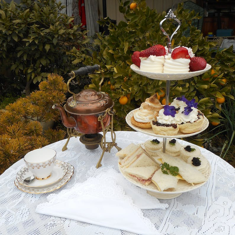 Image of the event 'High Tea with Music at Crystal Brook Gardens'