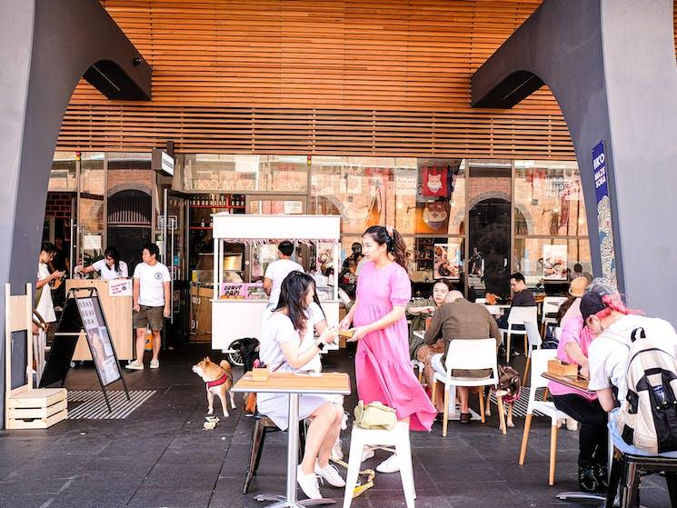 IIKO Mazesoba shopfront in Darling Square