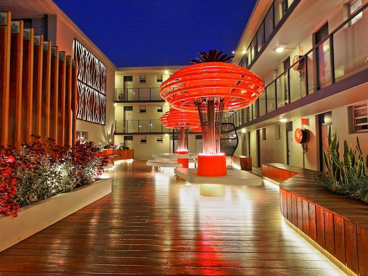 Hotel Outdoor Area