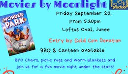 Image of the event 'Movies by Moonlight'