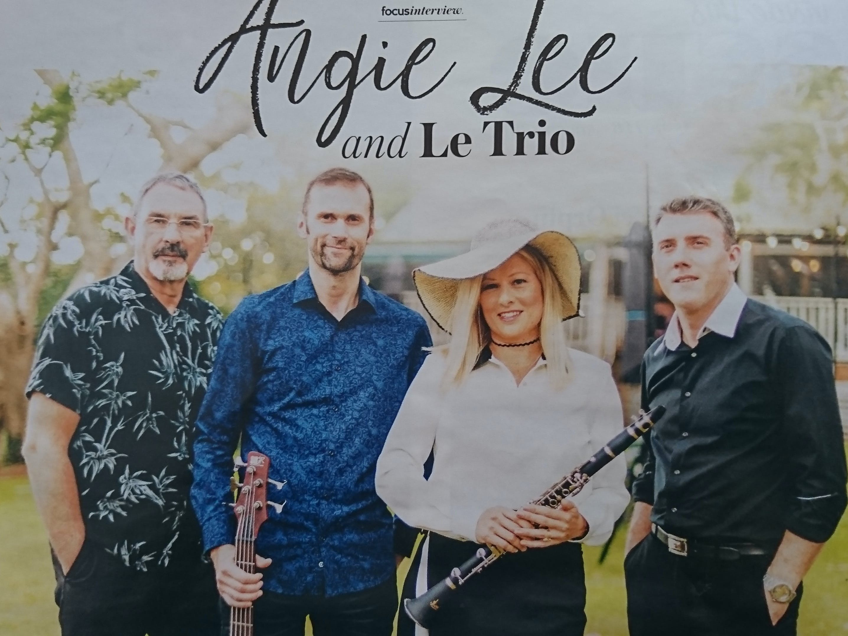 Angie Lee and Le Trio