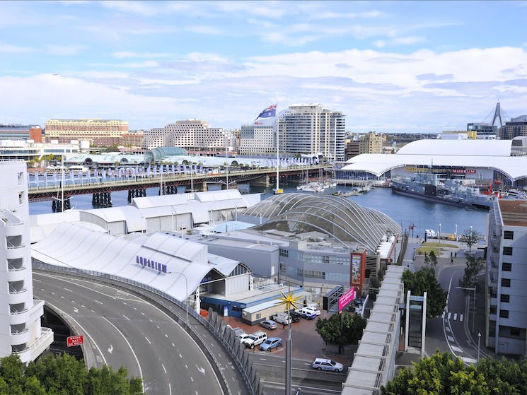 Metro Apartments on Darling Harbour - views