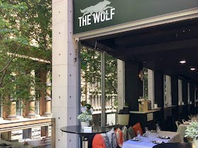 Located in the heart of Sydney Financial CBD, The Wolf Wine Bar offers a selection of wines from both the 'old' and 'new' world and food inspired by Chef Brad...