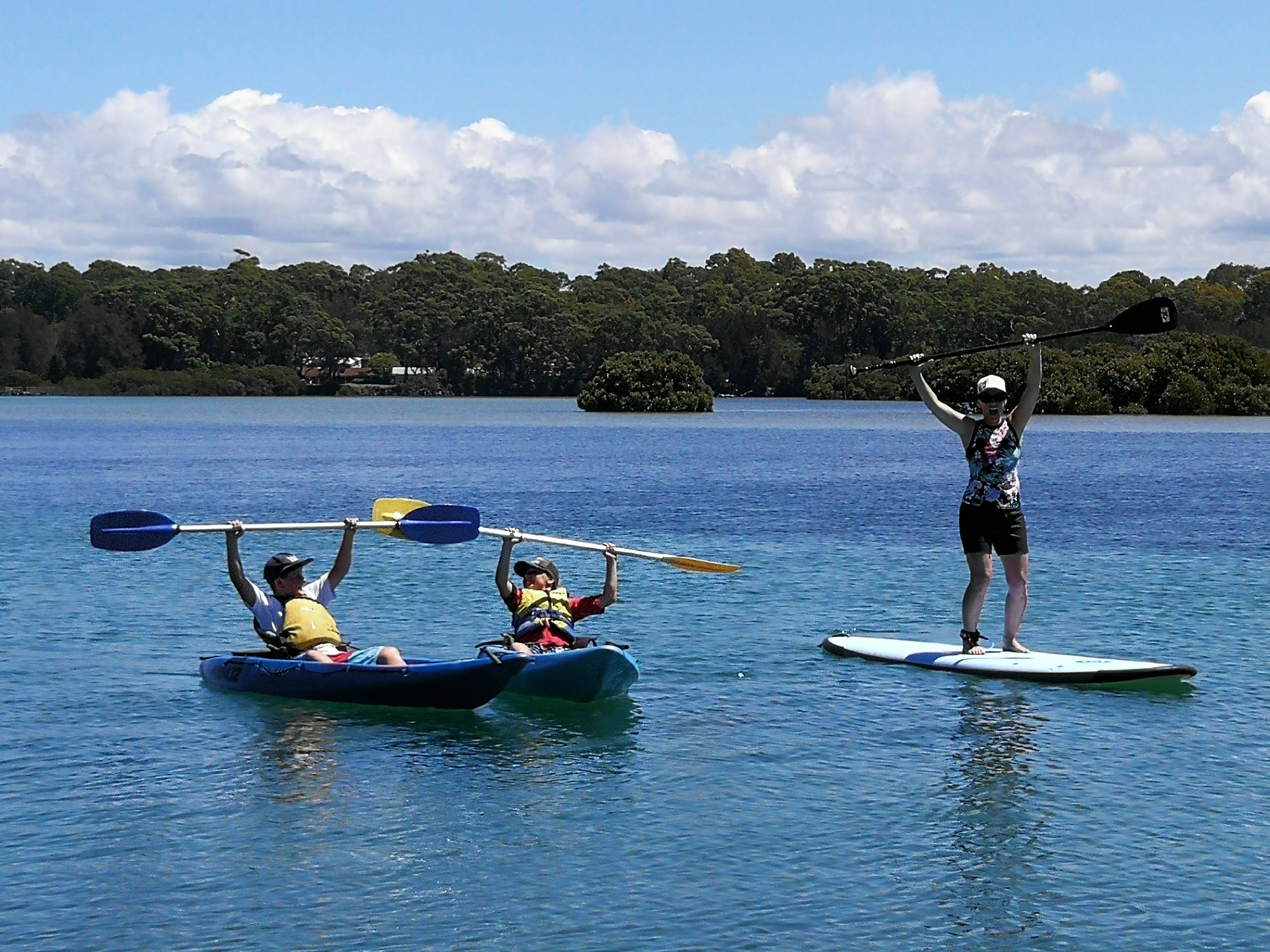 Paddle Sports in our Pristine Playground