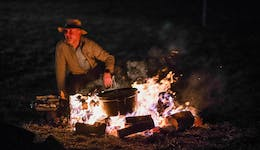Image of the event 'Firepit Feast at the Winter Fire Festival'