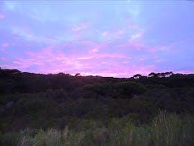 Sunrise over Raven Cottage