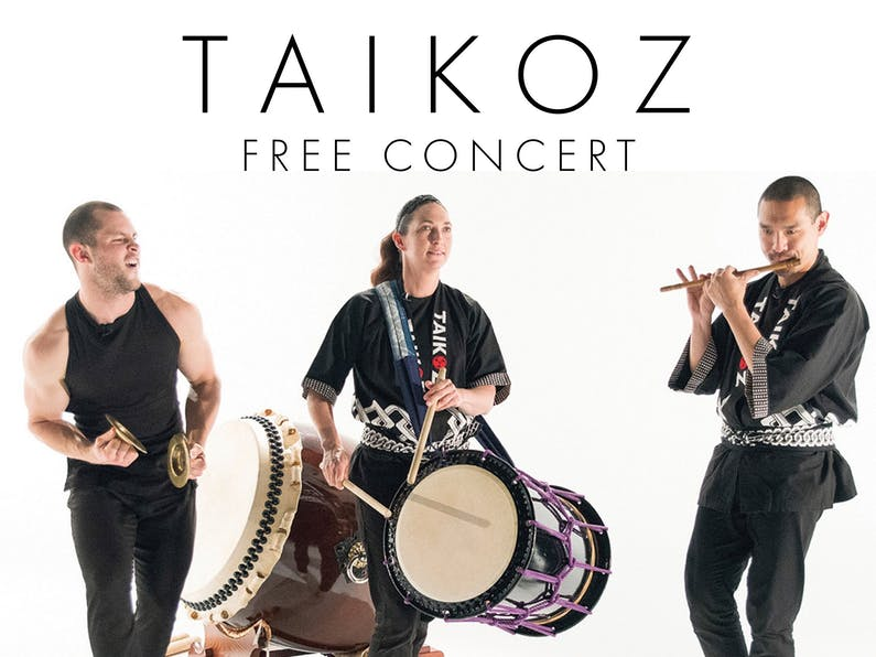 Image of the event 'Taikoz School Ensemble Free Concert'