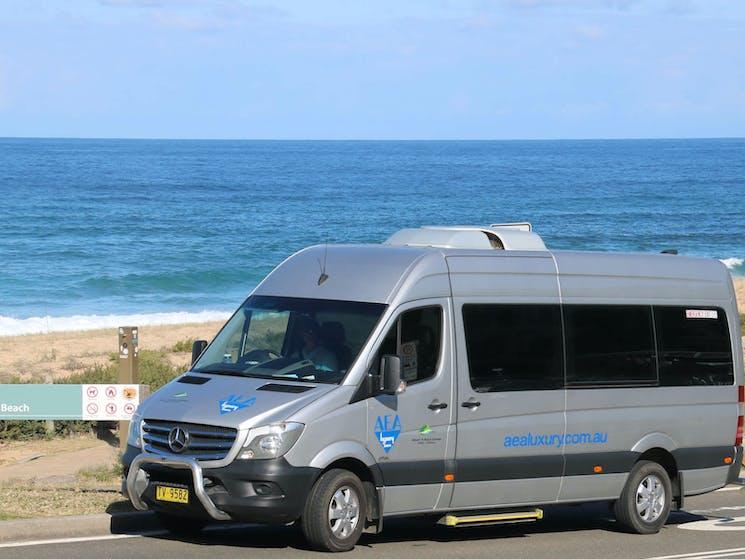 Royal National Park Garie Beach vehicle