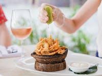 Old bay school prawns - the locals favourite Port Douglas restaurant