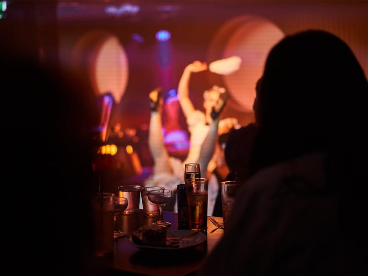 Cabaret comedy dance shows in Sydney CBD with Sydney's best dancers, comedians and burlesque girls