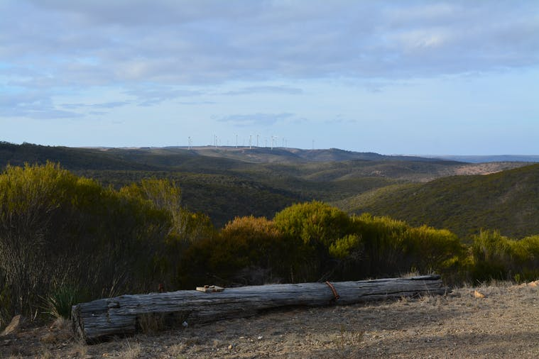 Cleve Hills Scenic Drive  Lookout