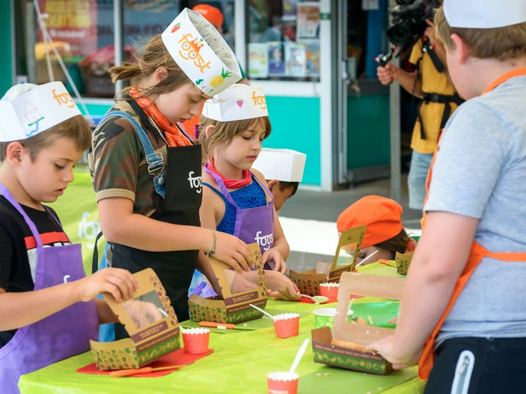 kids cooking classes with foost 2017