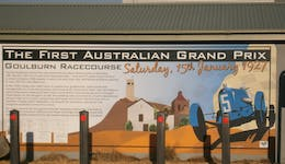 Image of the event 'Memorial to the First Australian Grand Prix for All Powers Racing Cars'
