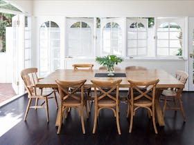 You'll love the second dining area with 8 seater table