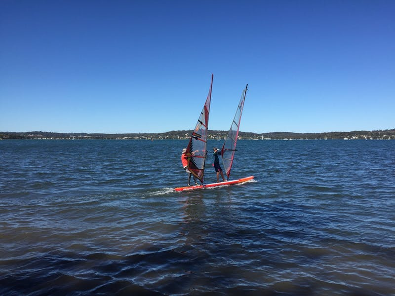 Sailboard Lake Macquarie