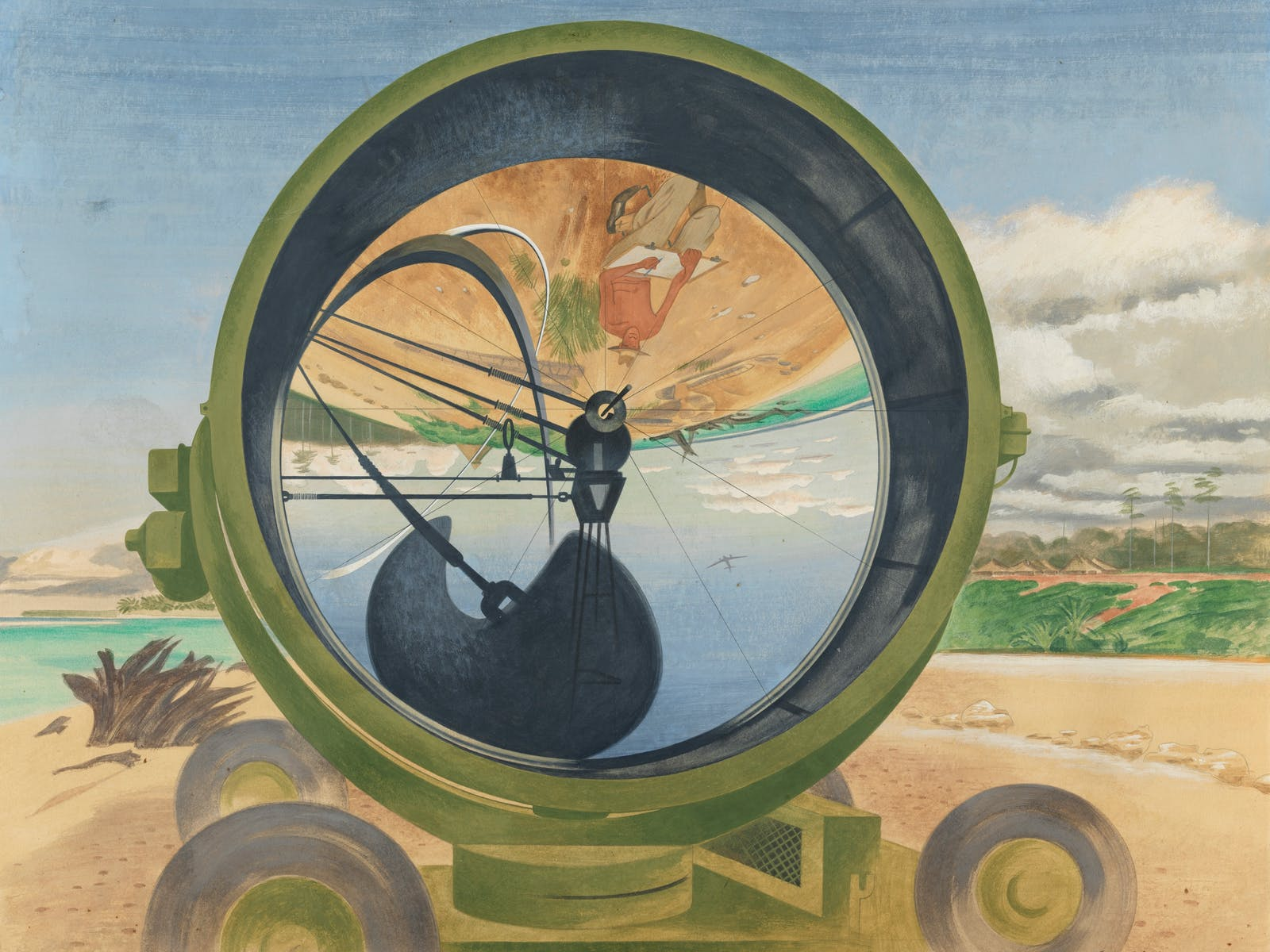 Image for Reality in flames: modern Australian art in the Second World War