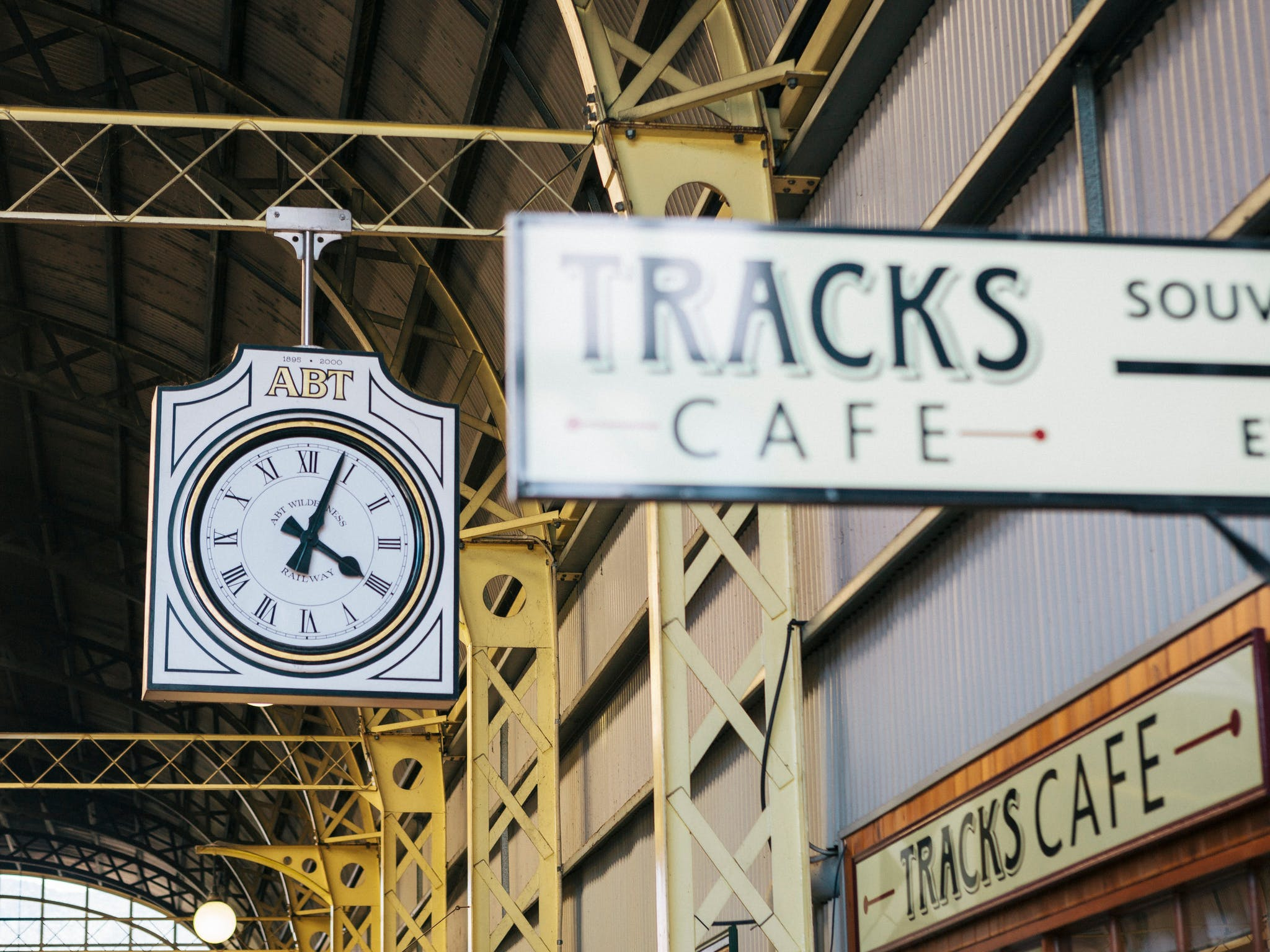 Tracks Cafe at Queenstown Station offers great coffee , snacks and light meals