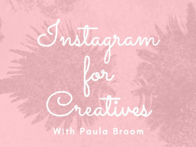 Image of the event 'Instagram for Creatives'