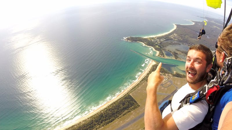Beach Skydive