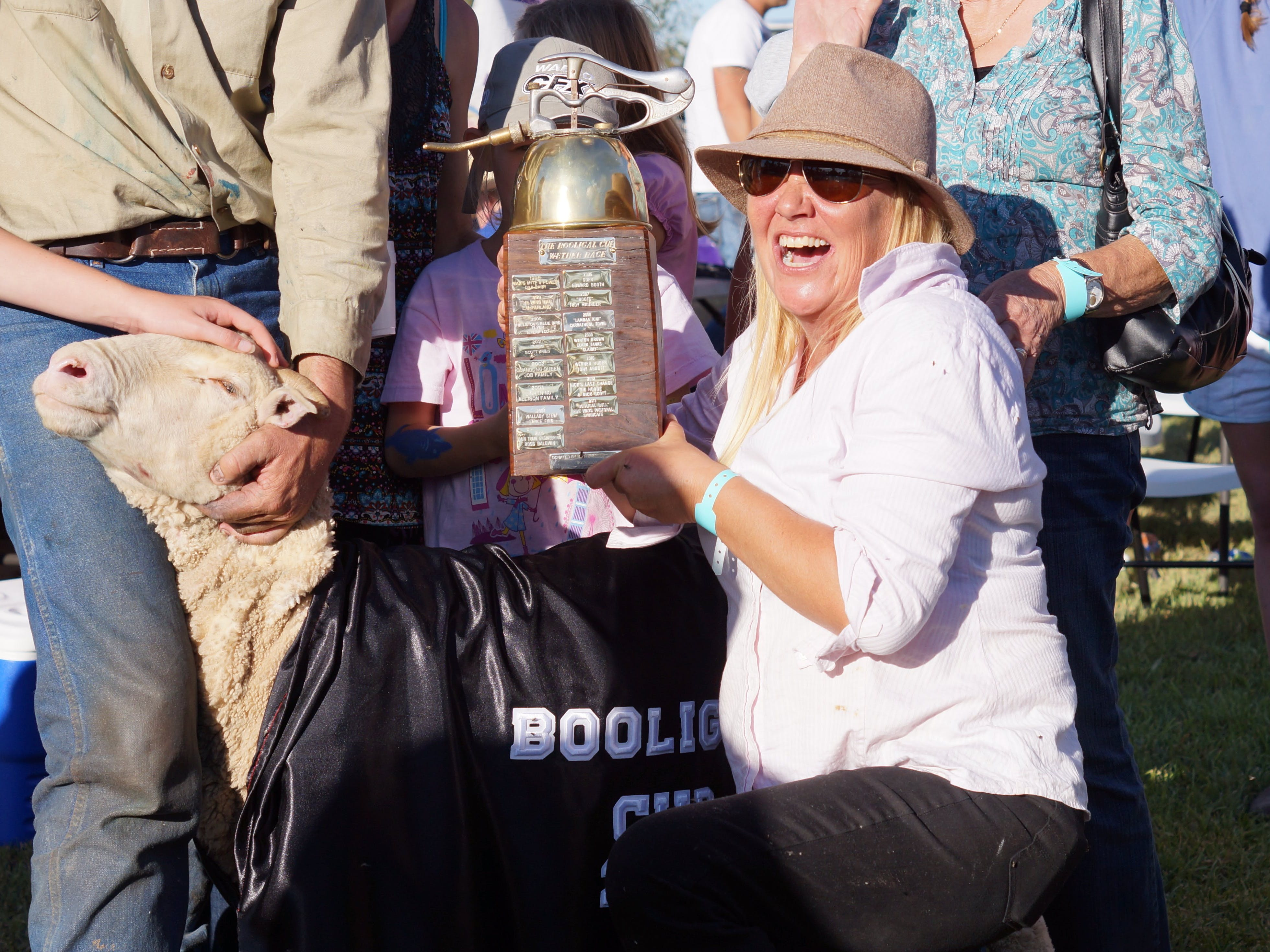 Winners!  The Booligal Cup