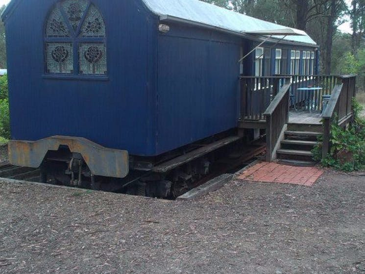 one of our train carriages