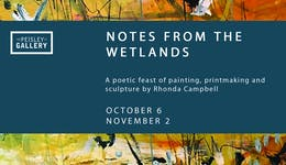 Image of the event 'Notes from the Wetlands'
