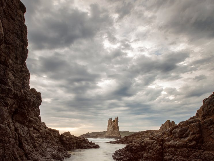 Spectacular Cathedral Rocks