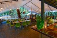 Onsite Tides Bar & Restaurant at Cape Trib Beach House.