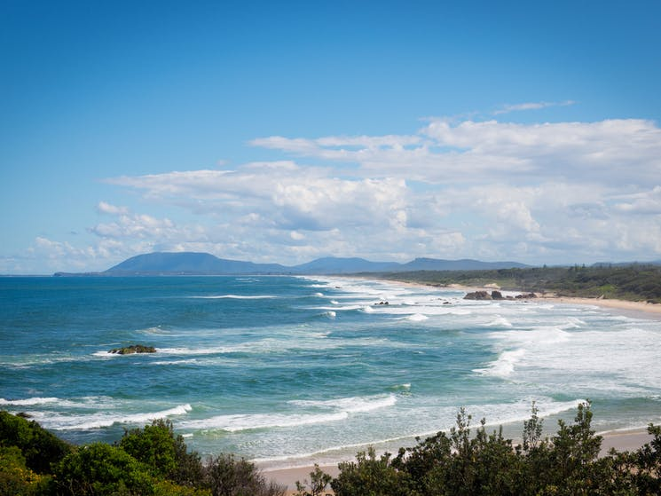 The resort is surrounded by nature, from golden sand beaches to the nearby Dorrigo National Park.