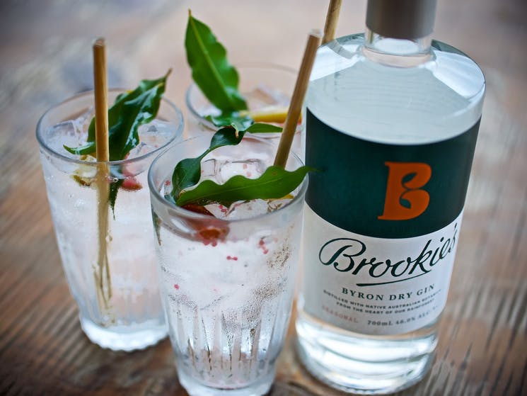 Brookie's gin and tonic