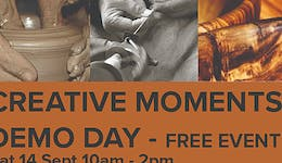 Image of the event 'Creative Moments Demonstration Day'