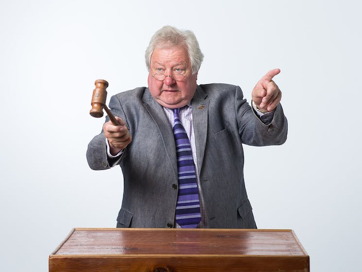 John Wood auctioneer