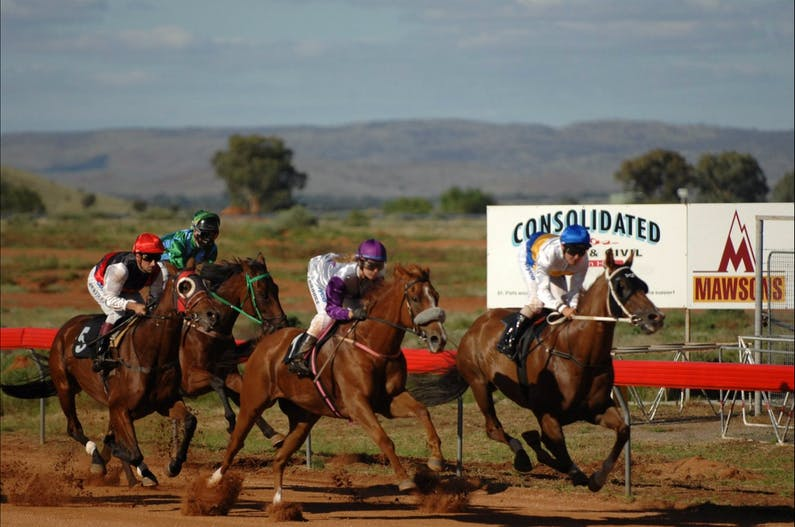 Image of the event 'Broken Hill St Patricks Race Day'