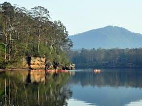 canoe, kayak, paddle, shoalhaven, nowra, river,