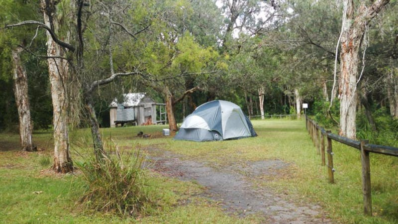 Kylies Hut walk-in campground
