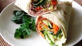 Chicken & Salad wrap