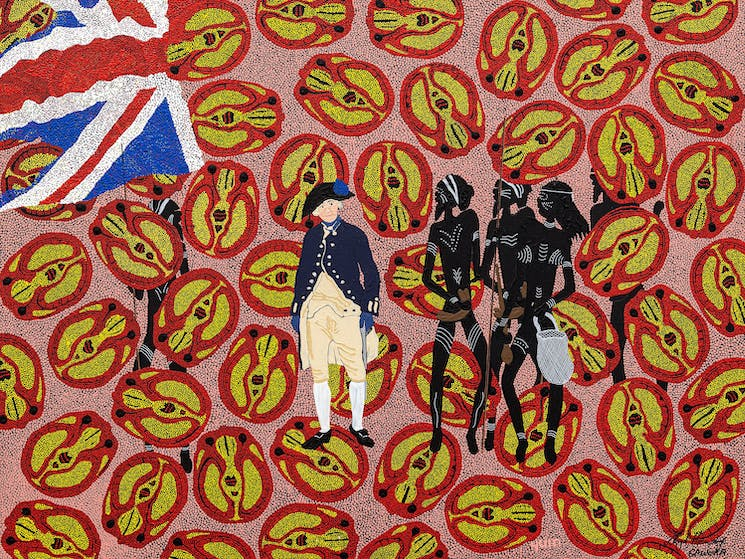 Painted by Lloyd Gawura Hornsby - The Truth about Terra Nullus