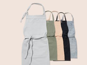 Cargo Crew Aprons with personalised name embroidery
