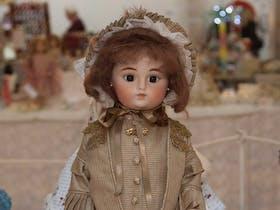 Female doll on display