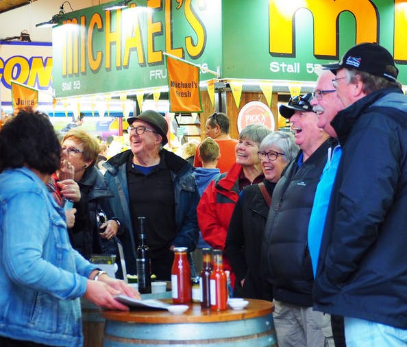 Adelaide Central Market Discovery Tour
