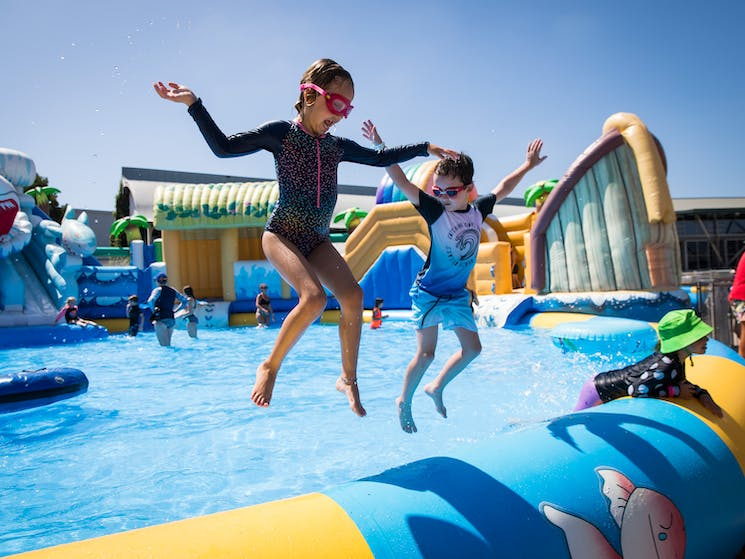 Come have a splash at Waterworld Central!