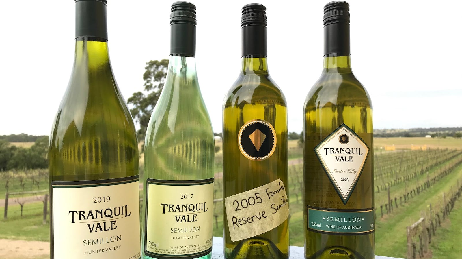 Semillons 2020 to 2003