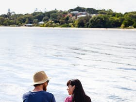 Sit by the Richmond River after shopping at the Ballina Farmer's Market